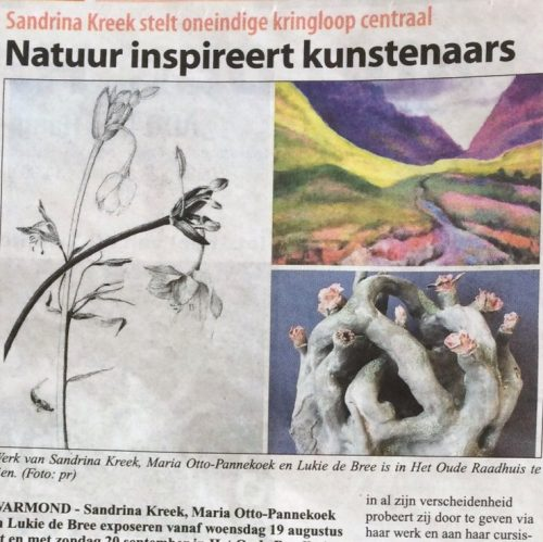 "In de Krant ""Witte Weekblad"""