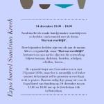 Kleigoed Bakwerk Expositie Borrel